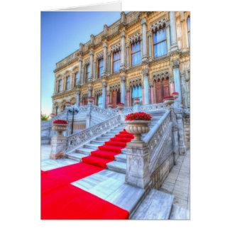 Ciragan Palace Istanbul Turkey Card
