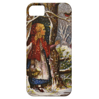 Circa 1872: A Christmas greetings card iPhone 5 Cover
