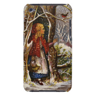 Circa 1872: A Christmas greetings card iPod Touch Case