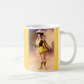 circa 1890 Vera nightclub artiste Coffee Mug