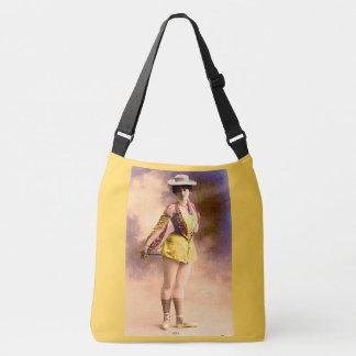 circa 1890 Vera nightclub artiste Crossbody Bag
