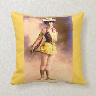 circa 1890 Vera nightclub artiste Cushion