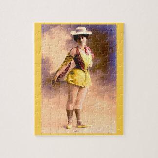 circa 1890 Vera nightclub artiste Jigsaw Puzzle