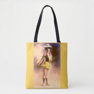 circa 1890 Vera nightclub artiste Tote Bag
