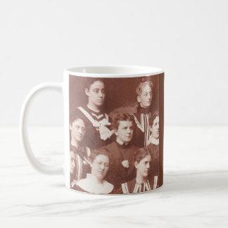circa 1905 women's choir coffee mug