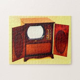 circa 1950 television set no. 1 jigsaw puzzle