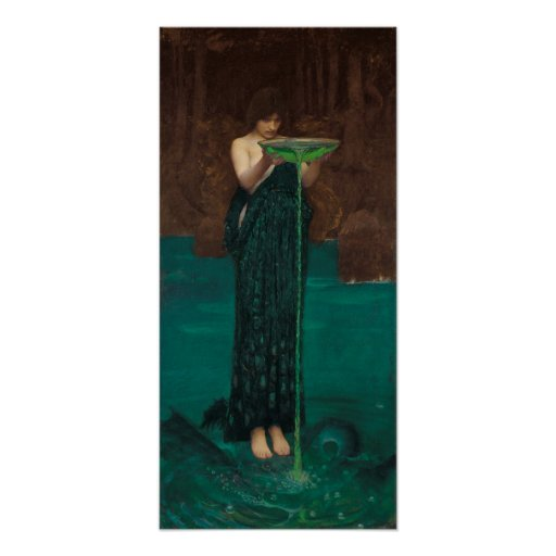 Circe Invidiosa by Waterhouse Posters