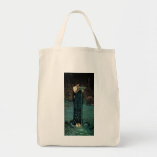 Circe Invidiosa by Waterhouse, Vintage Victorian Tote Bag