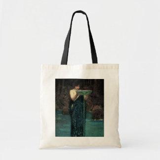 Circe Invidiosa by Waterhouse, Vintage Victorian Tote Bag