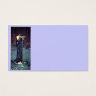 Circe Invidiosa - Circe with a Ponseive Bowl Business Card
