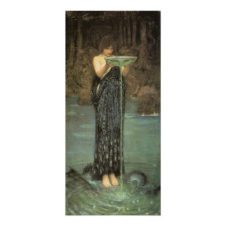 Circe Invidiosa - John William Waterhouse Poster