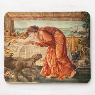 Circe Pouring Poison into a Vase Mouse Pad