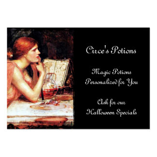 Circe Sorceress and Potions Pack Of Chubby Business Cards