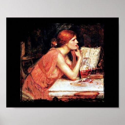 Circe Sorceress and Potions Poster