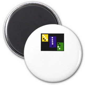 circle 6 cm round magnet