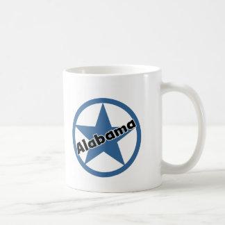 Circle Alabama Coffee Mugs