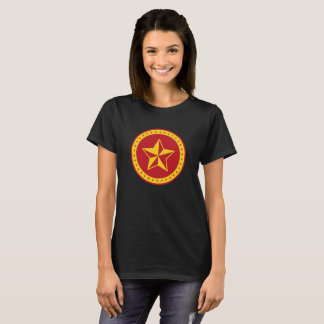 Circle Communist Red Star Women's Basic T-Shirt