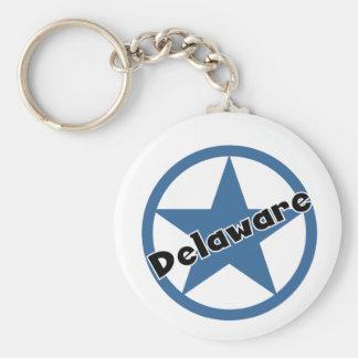 Circle Delaware Key Ring