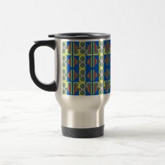 Circle Design Stainless Steel Travel Mug