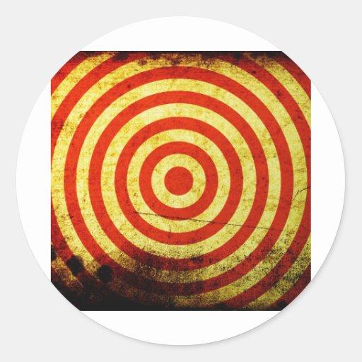 Circle Digital Art Beautiful Design Style Fashion Sticker