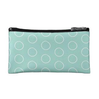 Circle Dot Cosmetic Bag