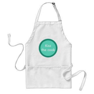 Circle dots design standard apron