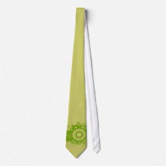 Circle Flowers Swirly - Customized Tie
