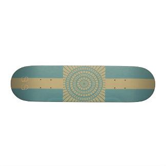 Circle Geometric Skateboard