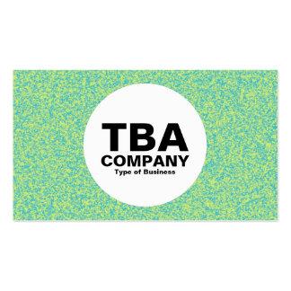 Circle - Impressionist Business Card