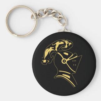 circle-Keychain Basic Round Button Key Ring