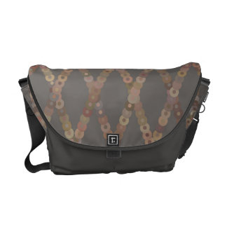 Circle Lattice Messenger Bag