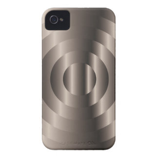 Circle Metallic Beige Blackberry Bold Case-Mate iPhone 4 Case