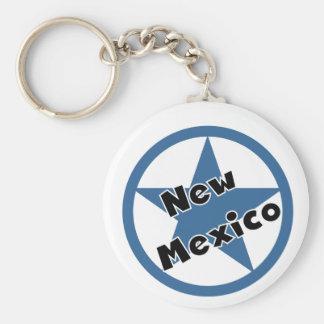 Circle New Mexico Key Ring