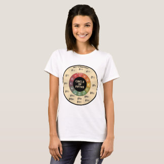 Circle of 5ths 2 T-Shirt