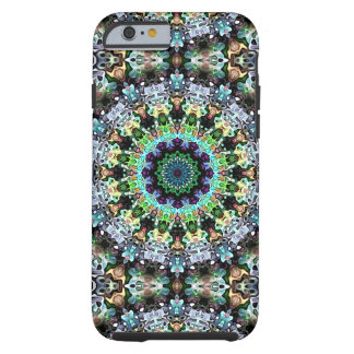 Circle of Colorful Symmetry Tough iPhone 6 Case