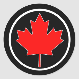 Circle Of Culture Canada Day Stickers