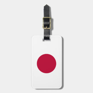 Circle of day luggage tag