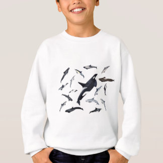 Circle of dolphins sweatshirt