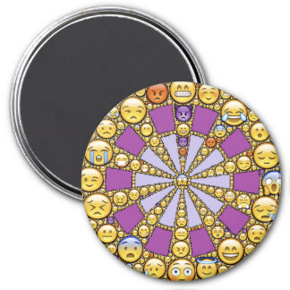 Circle of Emotions Fridge Magnet