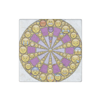 Circle of Emotions Stone Magnet