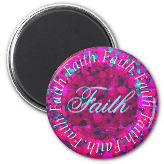 Circle of Faith 6 Cm Round Magnet