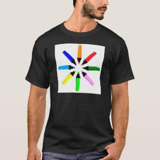 Circle of Highlighter Pens T-Shirt