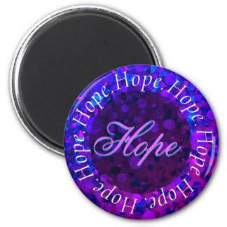 Circle of Hope 6 Cm Round Magnet
