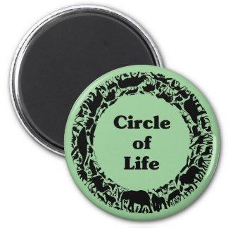 Circle of life magnets