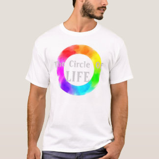 Circle of Life -  Rainbow t-shirt