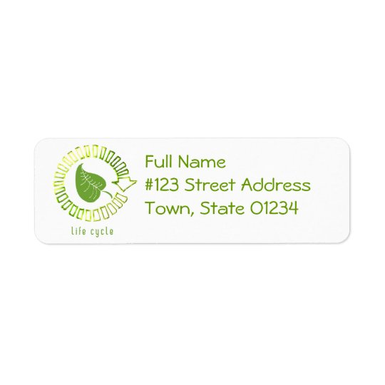 Circle of Life Return Address Label