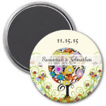 Circle of Love Flower Tree save the Date Magnet