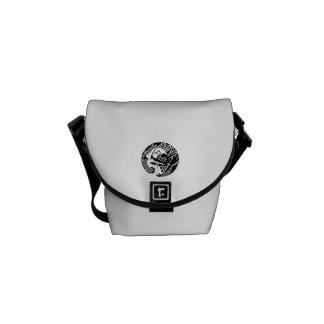 Circle of Nichiren sect dragon Messenger Bag