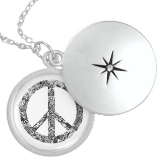 Circle of Peace Sterling Silver Necklace