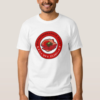 Circle Of Remembrance Remembrance Day T-Shirts